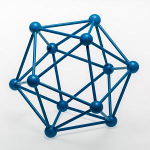 Icosaedro Azul